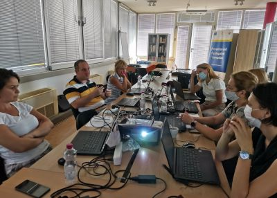 On-the-job trainings for Agency on processing and analyzing data