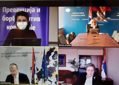 Podrška Evropske unije u borbi protiv korupcije u Srbiji